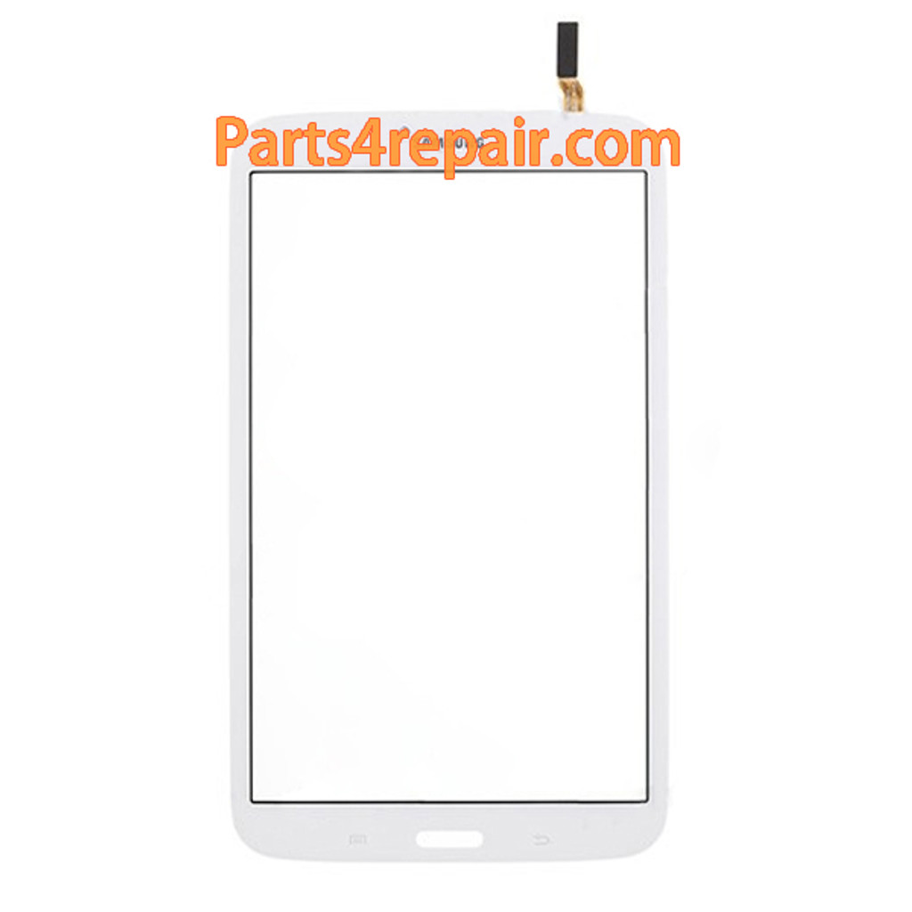 Touch Screen Digitizer for Samsung Galaxy Tab 3 8.0 T311(3GI Version) -White from www.parts4repair.com