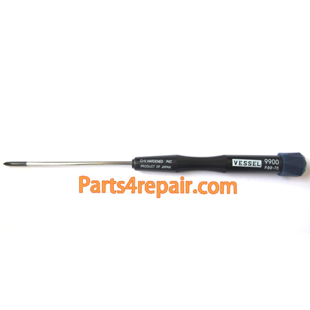 VESSEL Precision Screwdriver 9900 P.00-75 Notebook Maintenance High Strength And Hardness