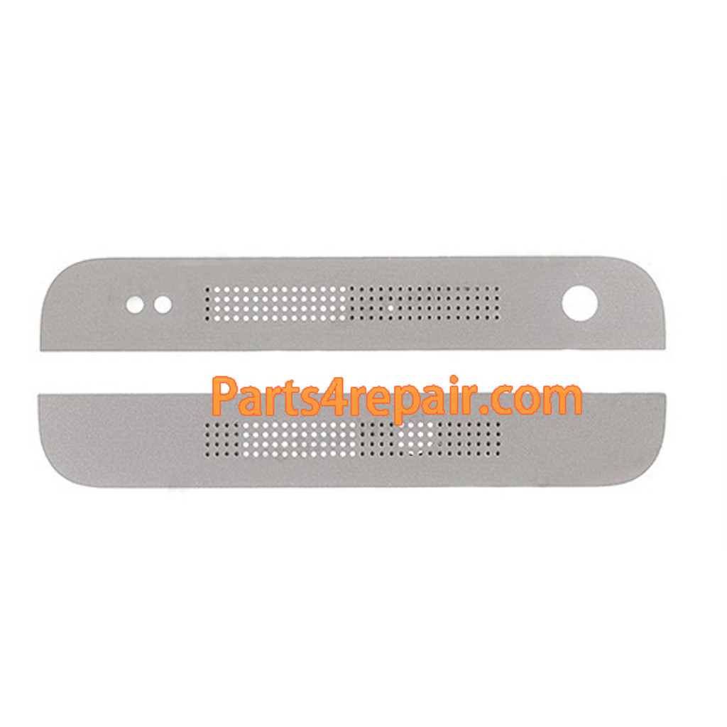 Top and Bottom Cover for HTC One mini M4 -White from www.parts4repair.com