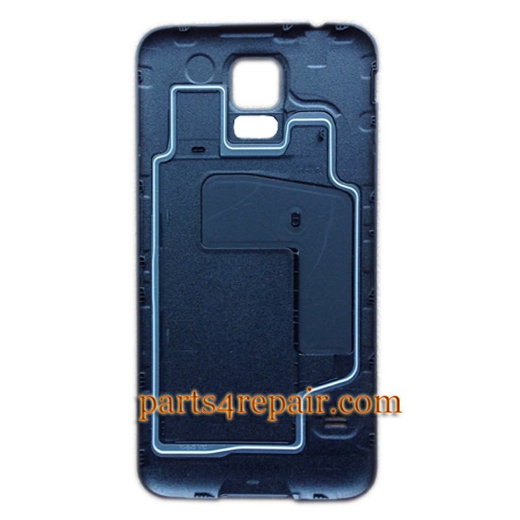 Back Cover with O-Ring for Samsung Galaxy S5 -Black