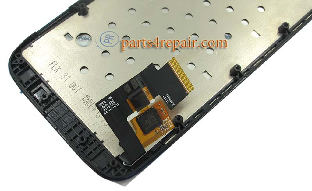Complete Screen Assembly with Bezel for Motorola Moto G XT1032