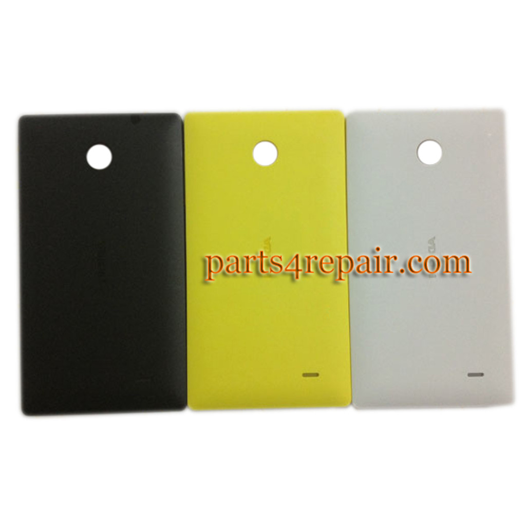 Back Cover for Nokia X -Black from www.parts4repair.com
