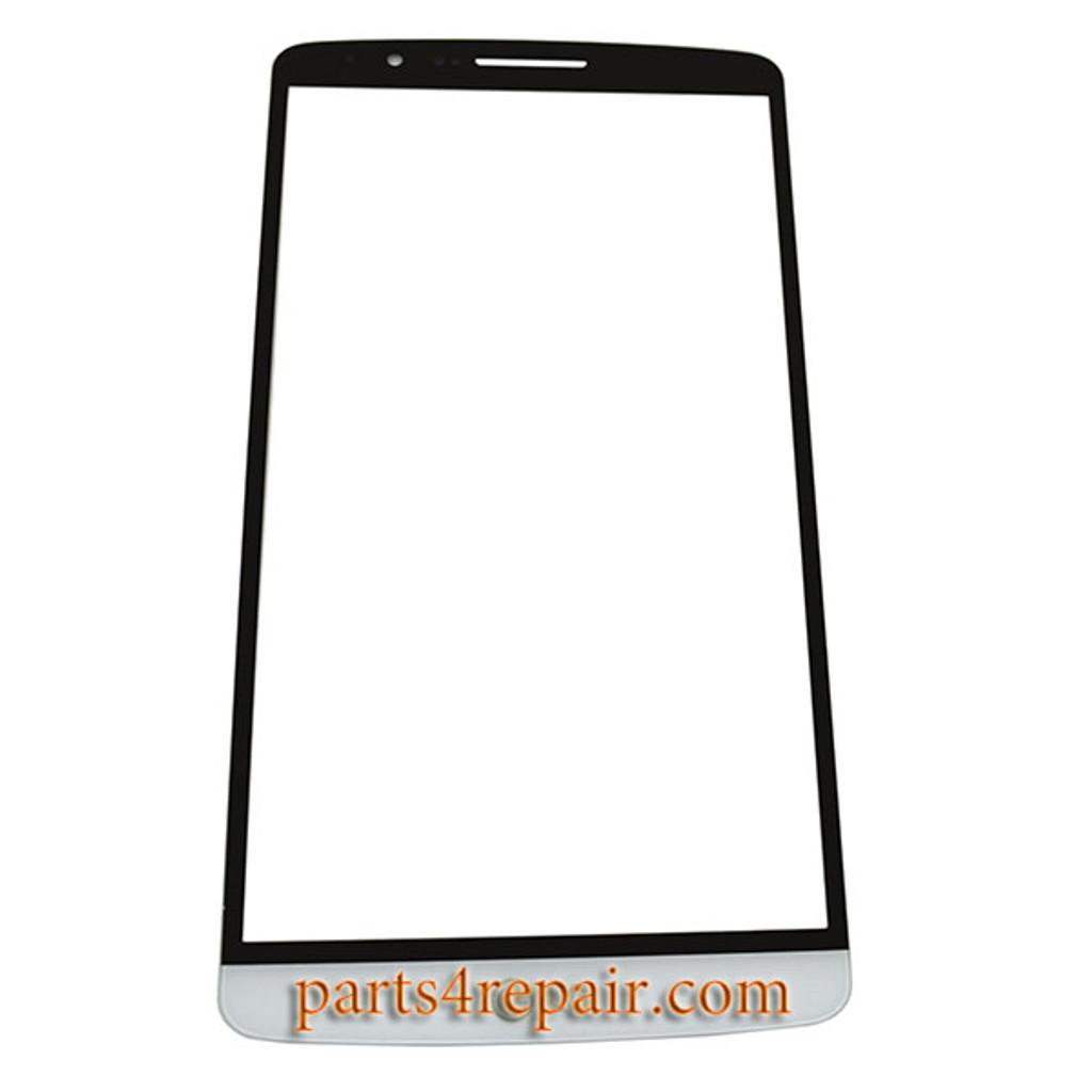Glass Lens for LG G3 -White