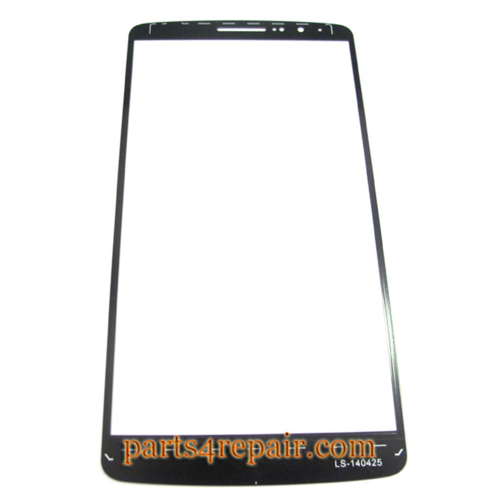 Front Glass for LG G3 -Black