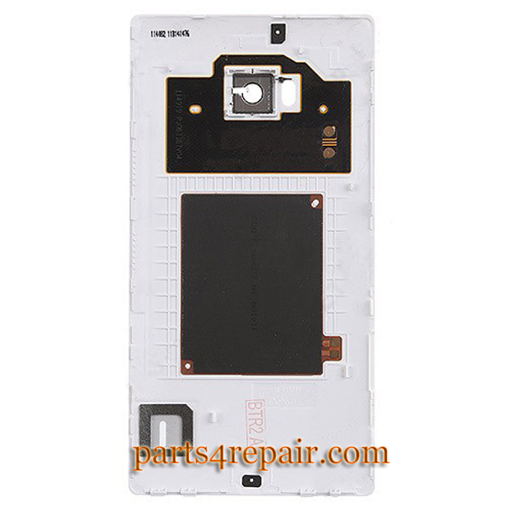 Back Cover for Nokia Lumia Icon 929 -White from www.parts4repair.com