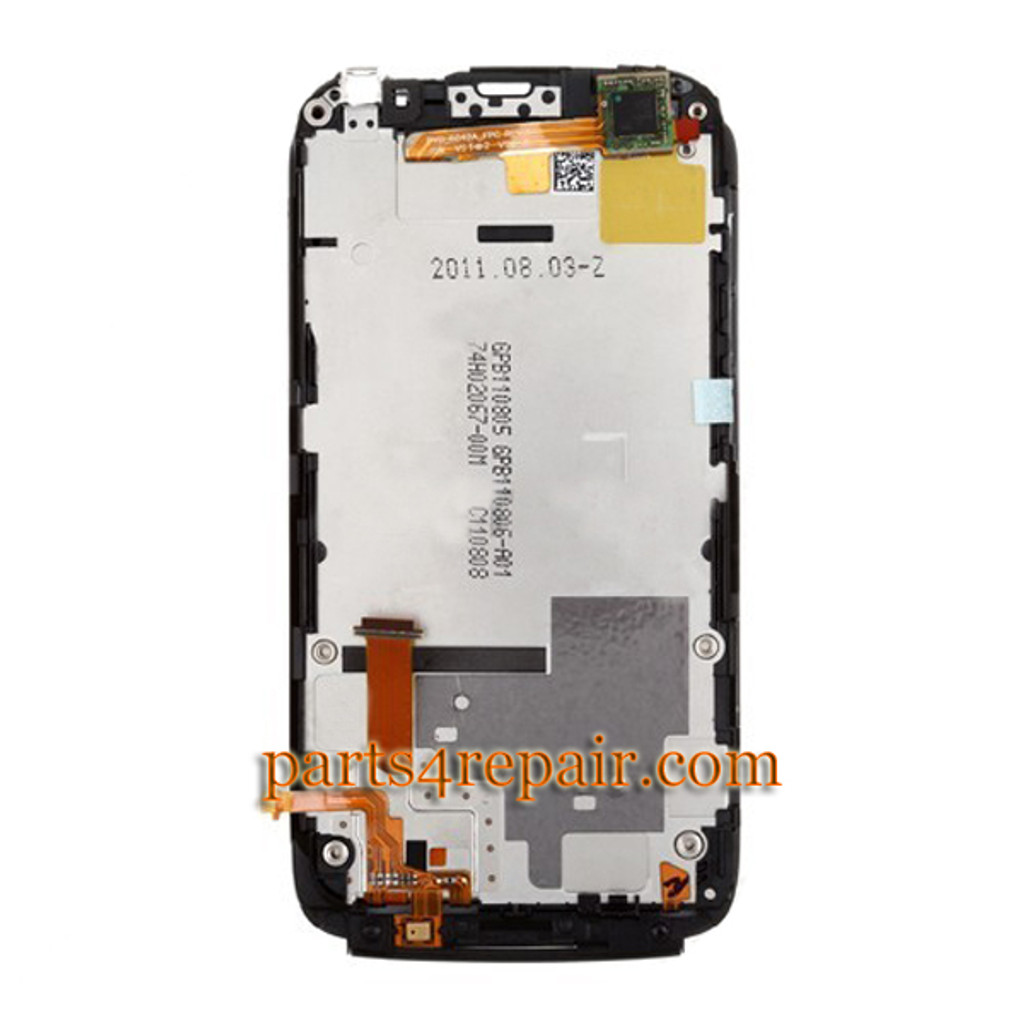 We can offer Complete Screen Assembly with Bezel for HTC Sensation 4G (T-Mobile)