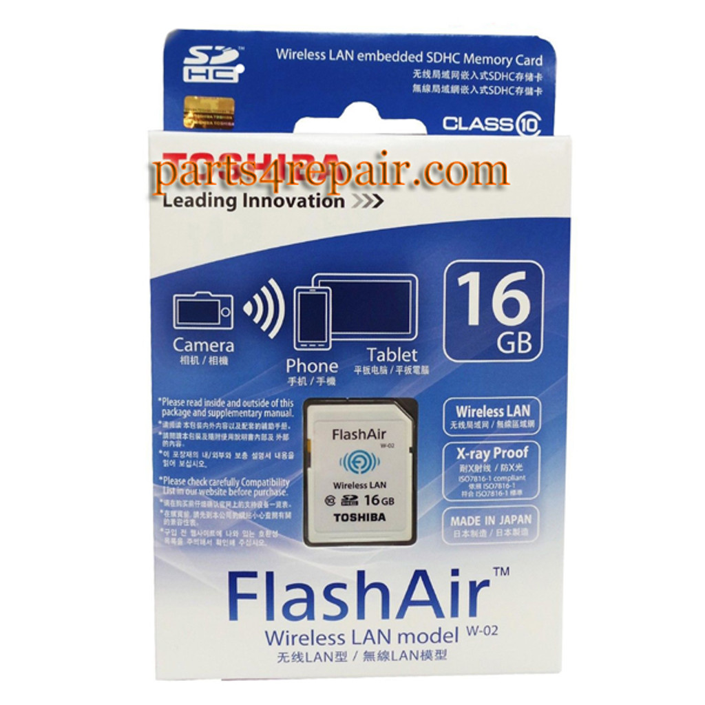 Flashair 16GB SDHC
