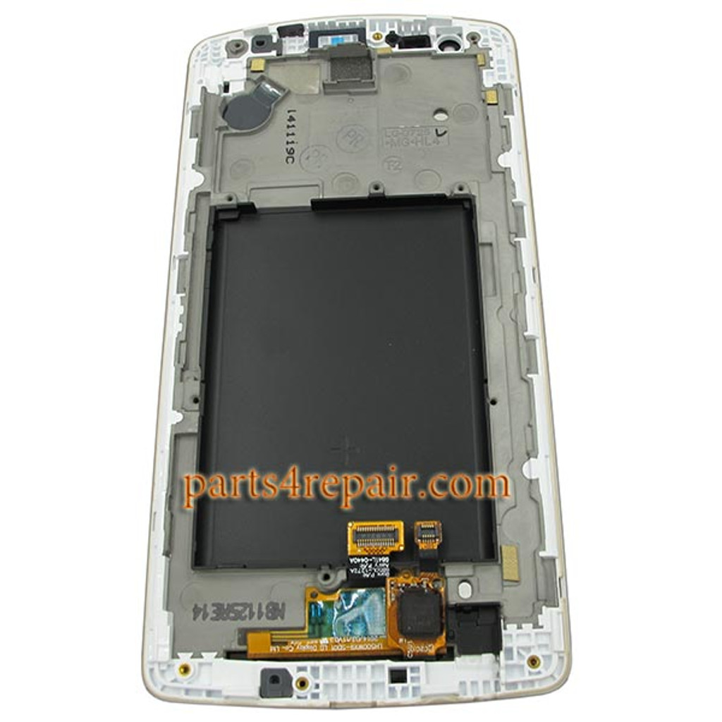 We can offer Complete Screen Assembly with Bezel for LG G3 S (G3 mini) -White
