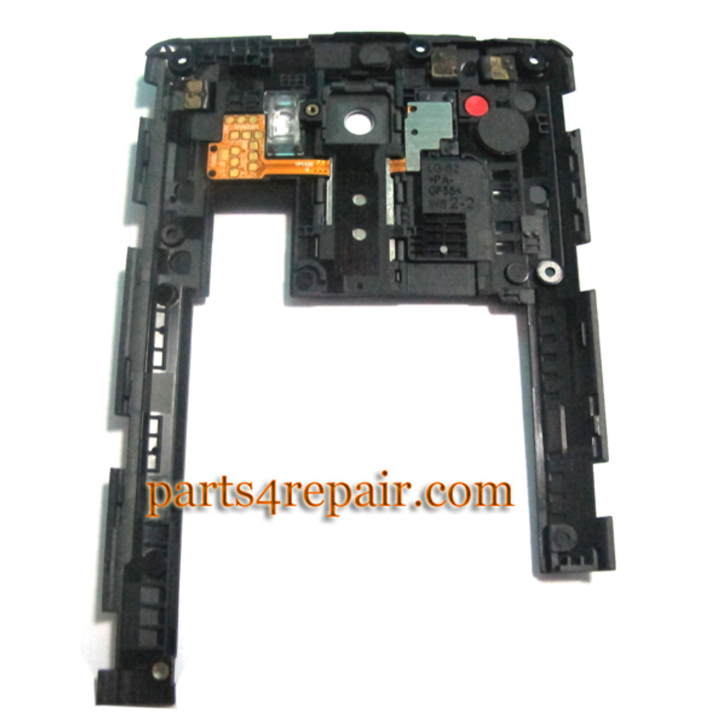 We can offer Rear Middle Cover for LG G3 D855 D851 -Black