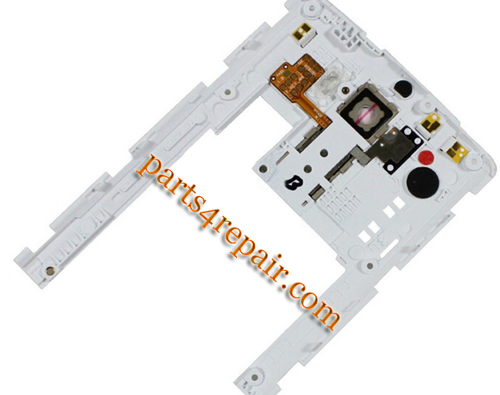 We can offer Rear Middle Cover for LG G3 D855 D851 -White