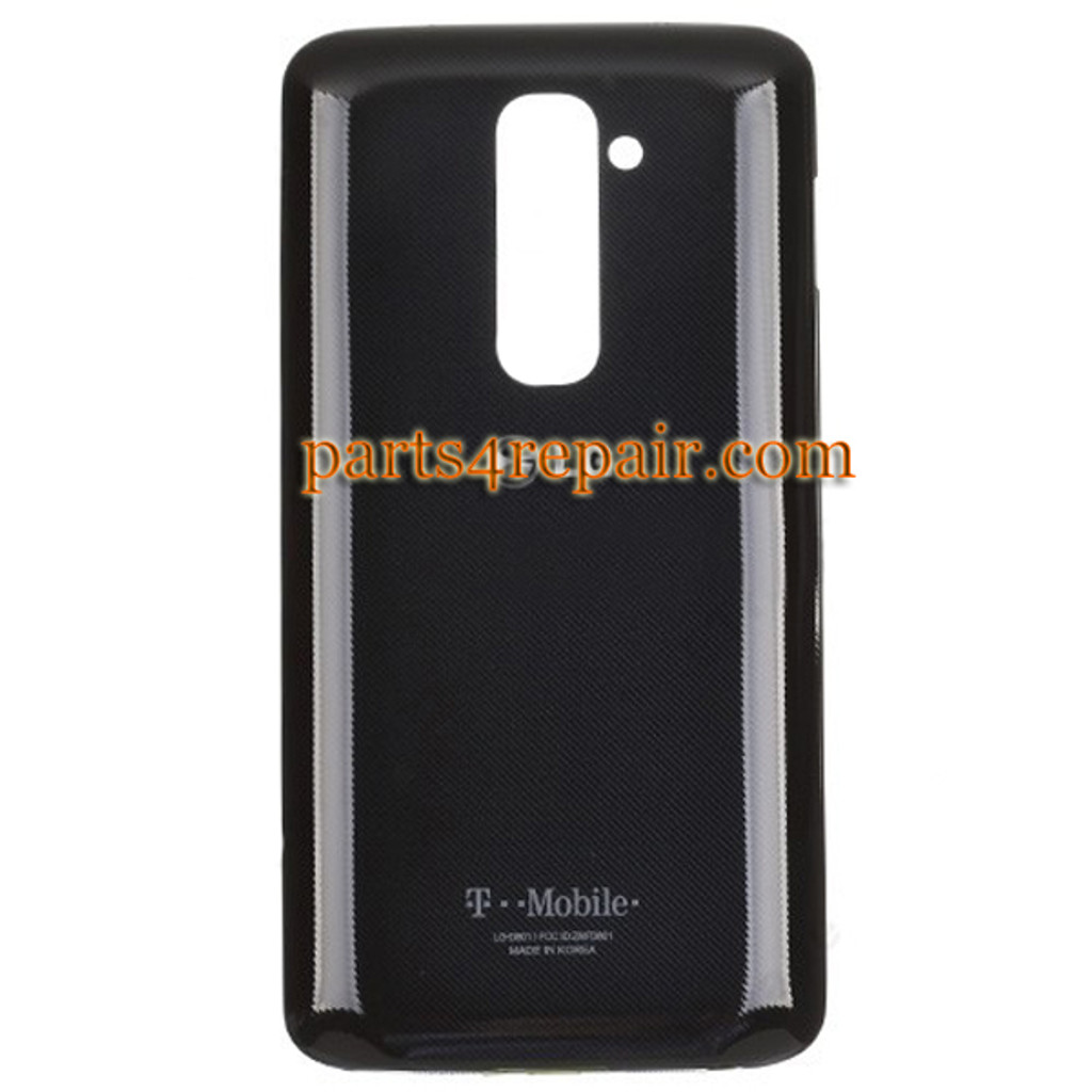Back Cover with NFC for LG G2 D801 -Black (for T-Mobile) from www.parts4repair.com