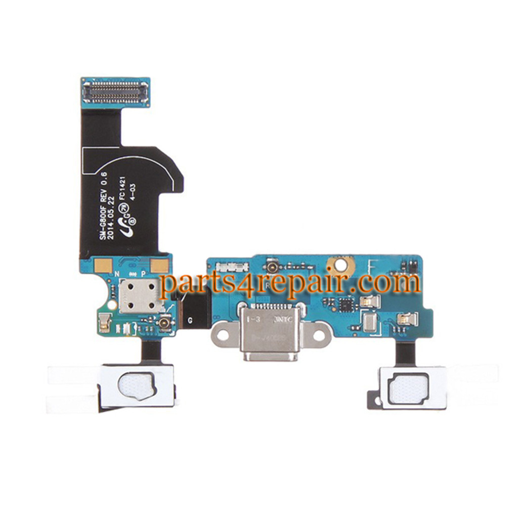 Dock Charging Flex Cable for Samsung Galaxy S5 mini G800F from www.parts4repair.com