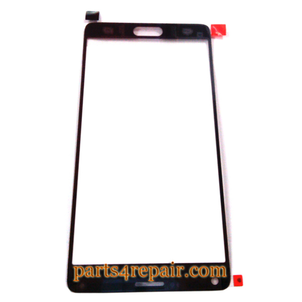 We can offer Front Glass for Samsung Galaxy Note 4 -Red