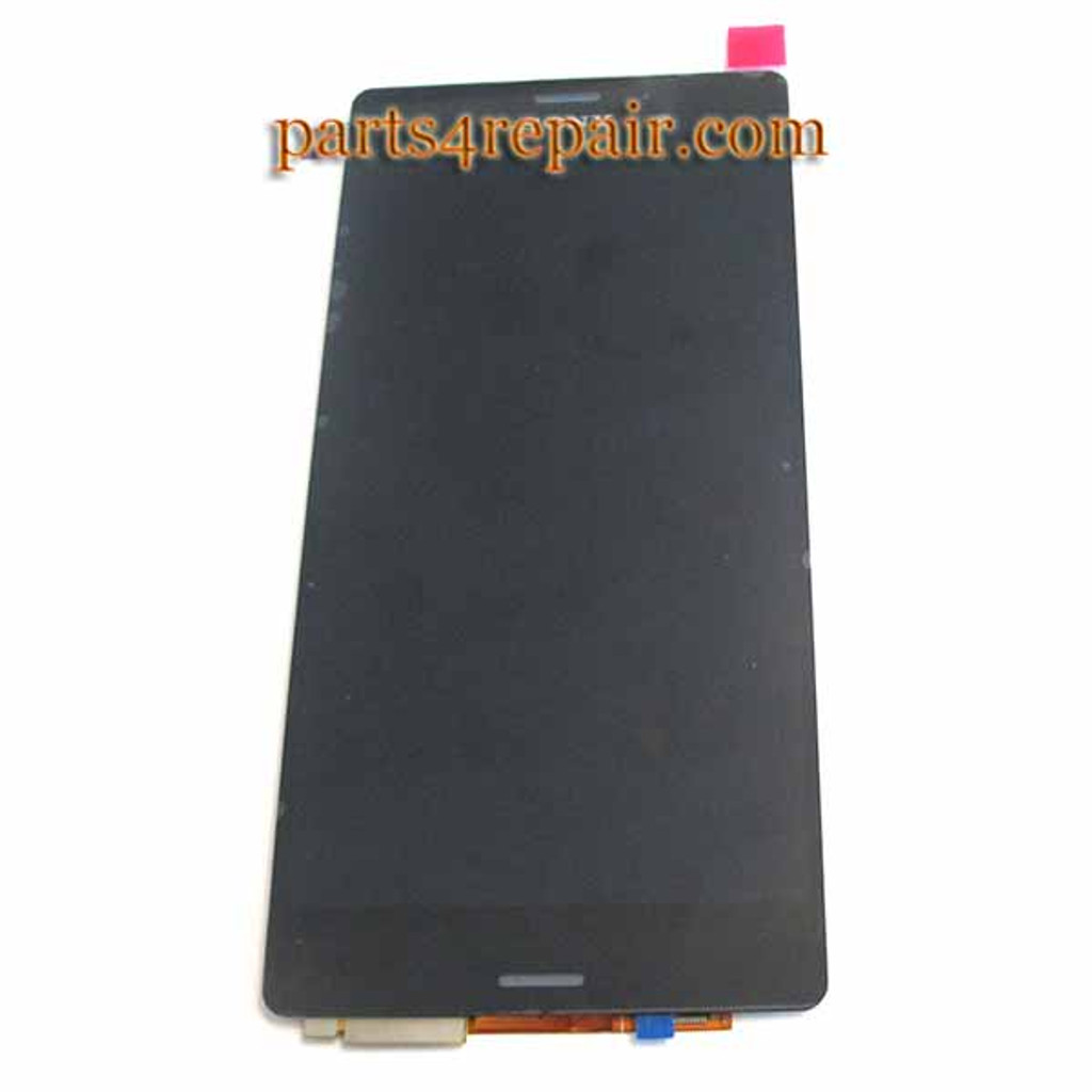 Complete Screen Assembly for Sony Xperia Z3 -Black