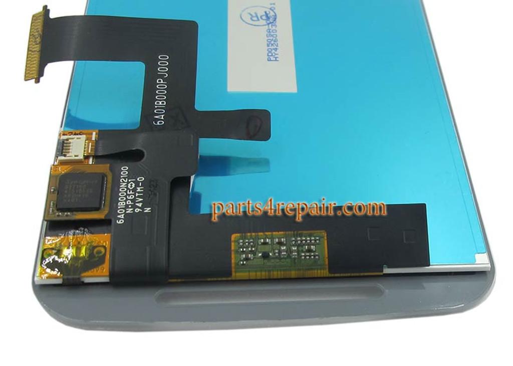Complete Screen Assembly for Motorola Moto G2 -White