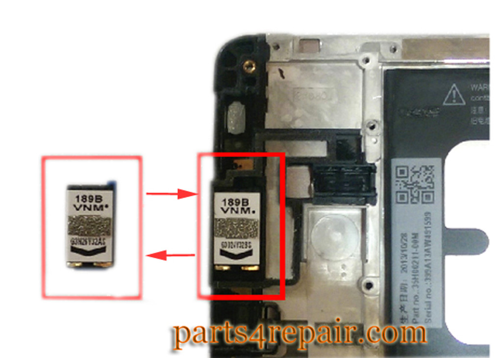 We can offer Earpiece Speaker for HTC One Max