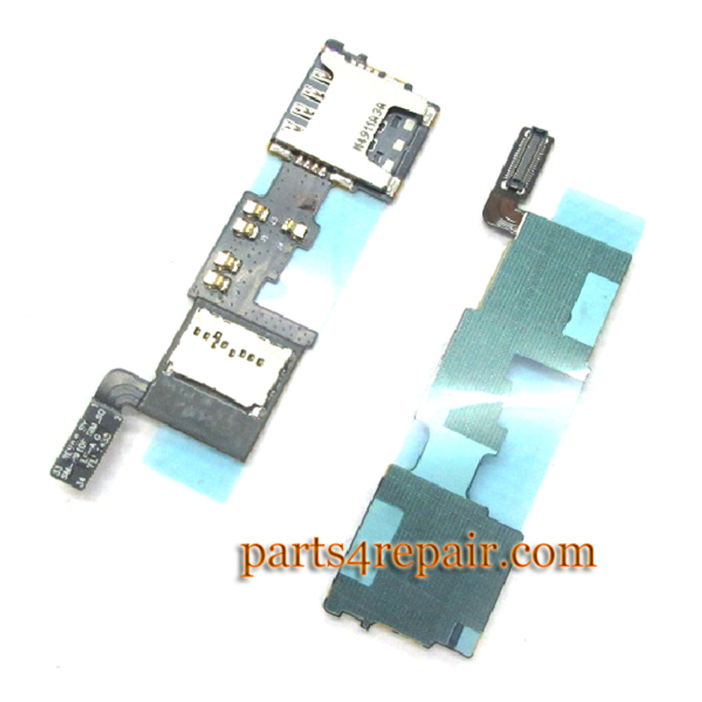 SIM Connector Board for Samsung Galaxy Note 4 N910F from www.parts4repair.com