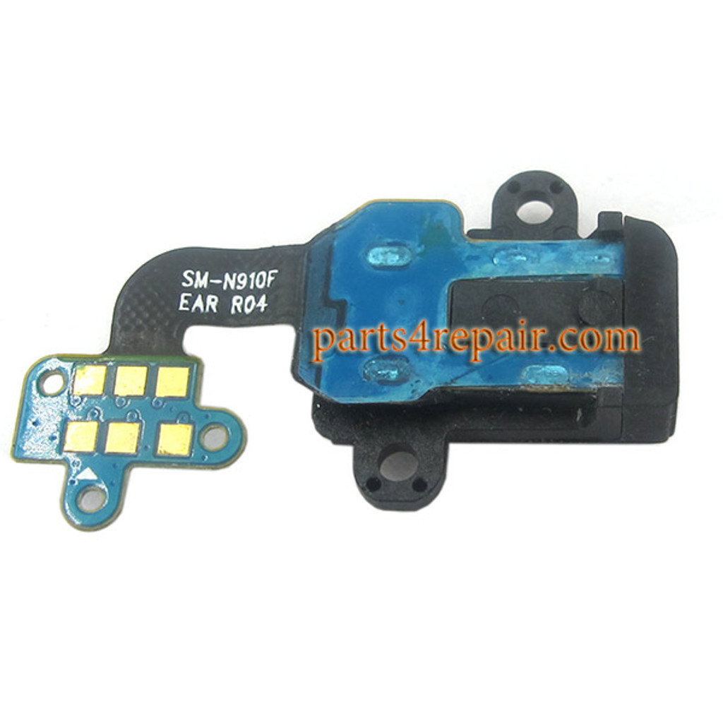 Earphone Jack Flex Cable for Samsung Galaxy Note 4 Series All Versions
