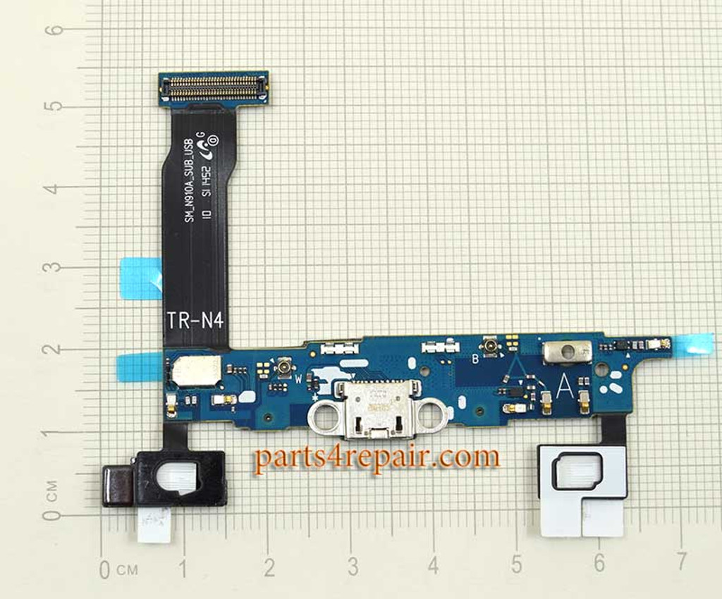 Dock Charging Flex Cable for Samsung Galaxy Note 4 N910A (for AT&T)