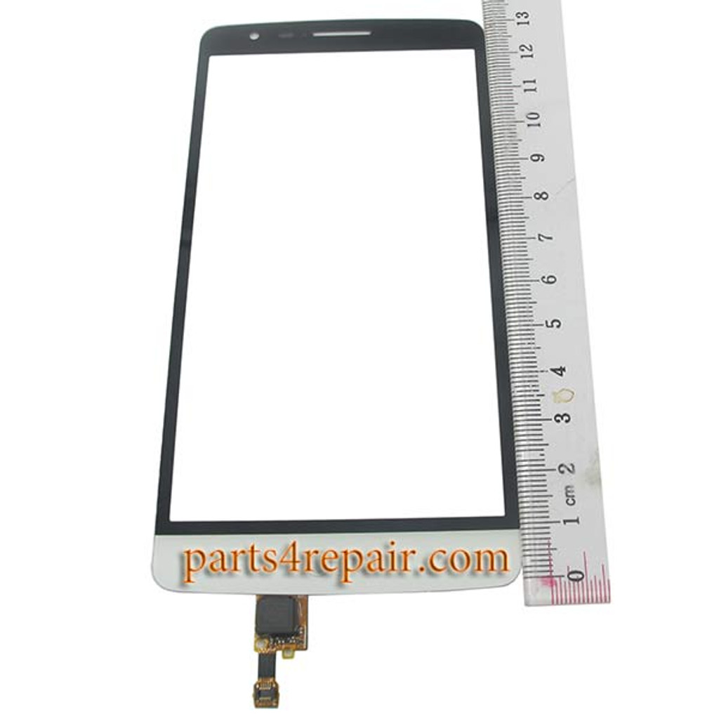 Touch Screen Digitizer for LG G3 S D722 (LG G3 mini) -White from www.parts4repair.com