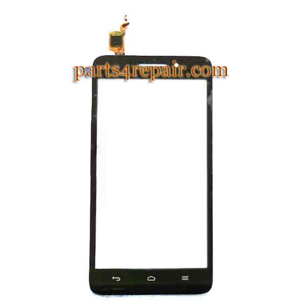 Touch Screen Digitizer for Huawei Ascend G620s -Black from www.parts4repair.com