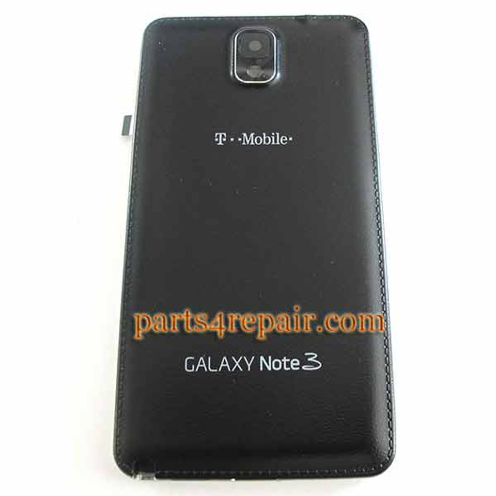 Full Housing Cover for Samsung Galaxy Note 3 N900T (T-Mobile) -Black