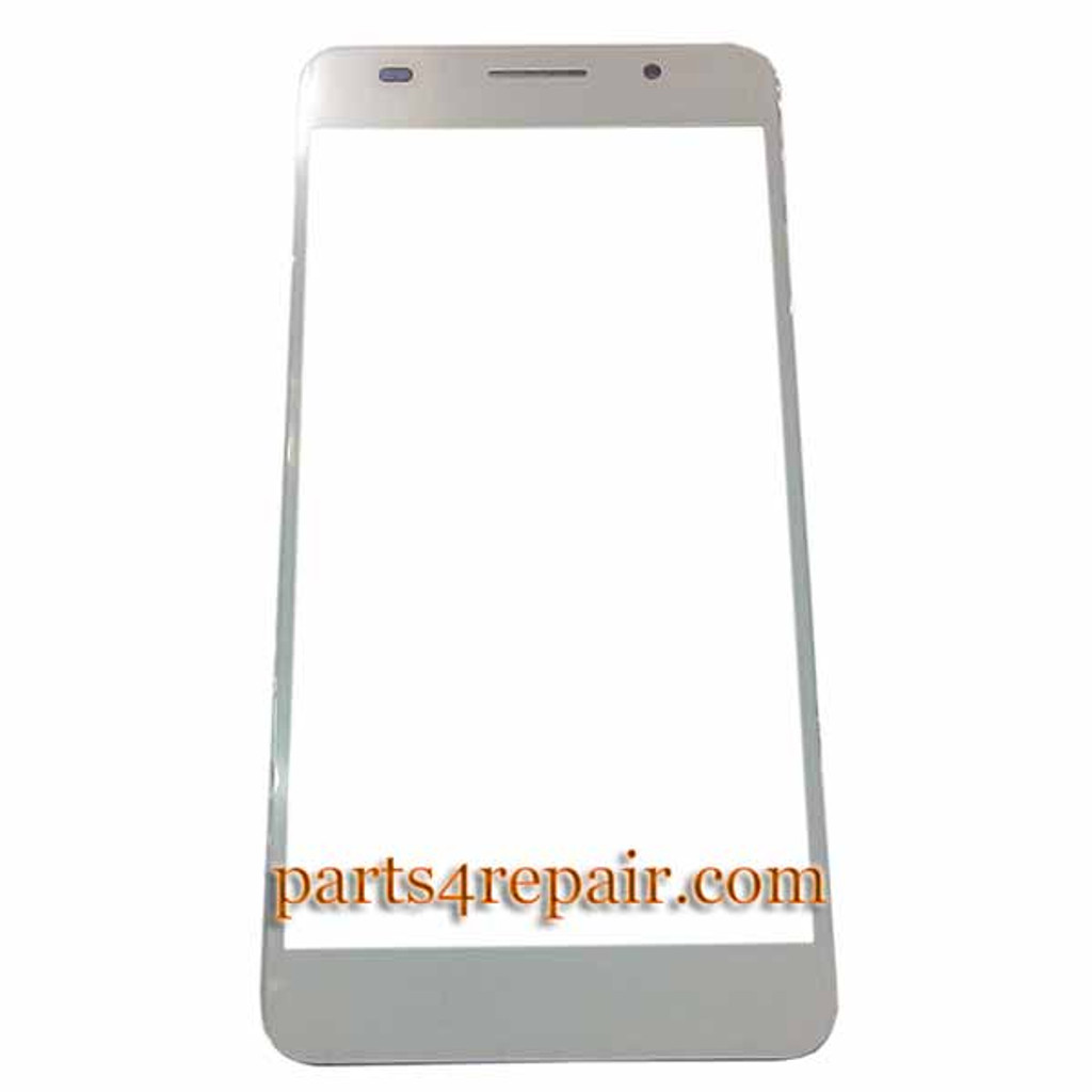 Front Glass for Huawei Honor 6 -White from www.parts4repair.com