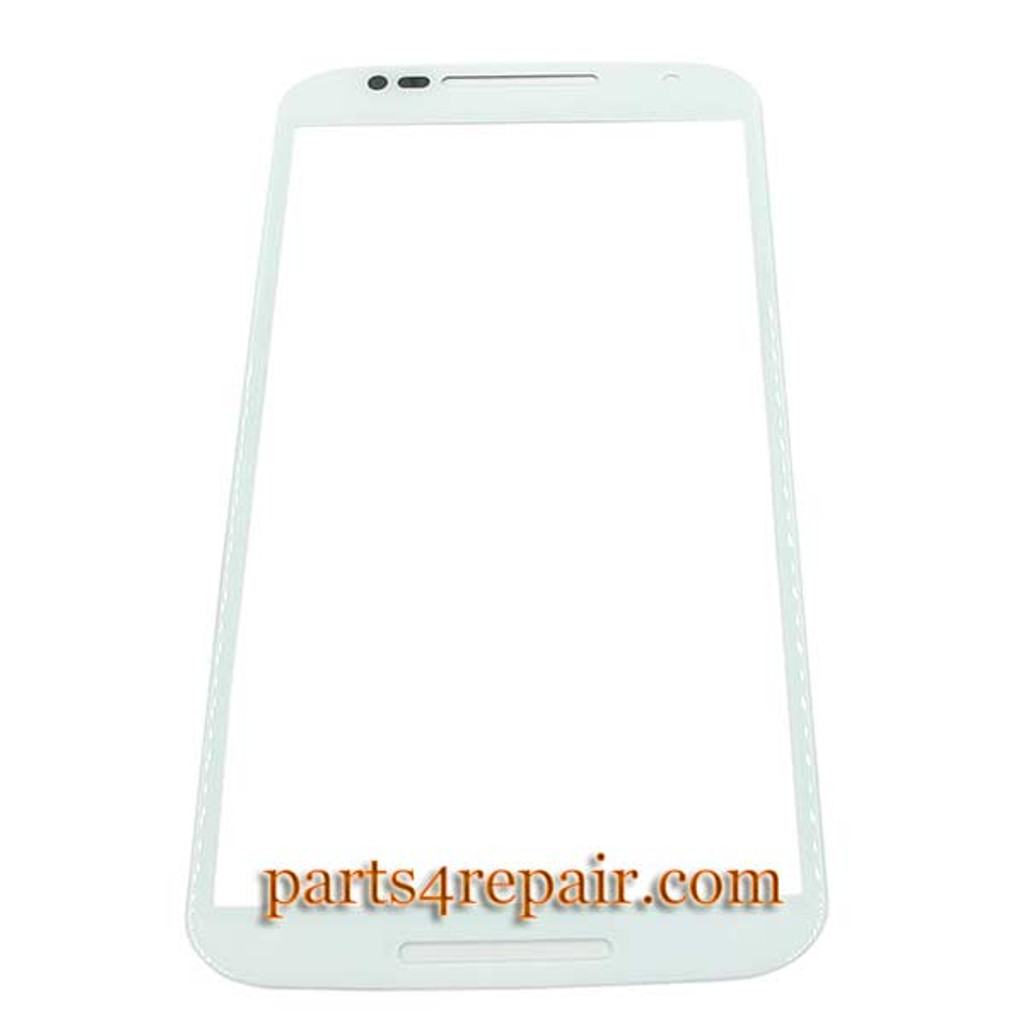 Front Glass OEM for Motorola Moto X2 XT1095 XT1096 XT1097 -White