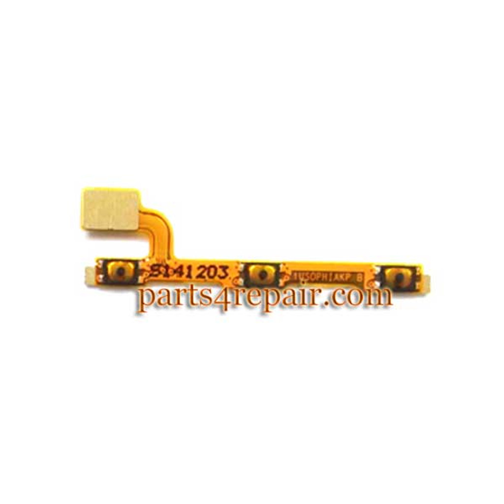 Side Key Flex Cable for Huawei Ascend P7 from www.parts4repair.com