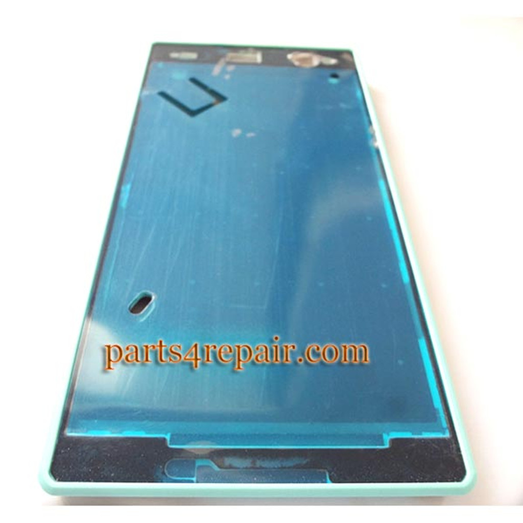 Front Housing Cover for Sony Xperia C3 S55 -Green from www.parts4repair.com