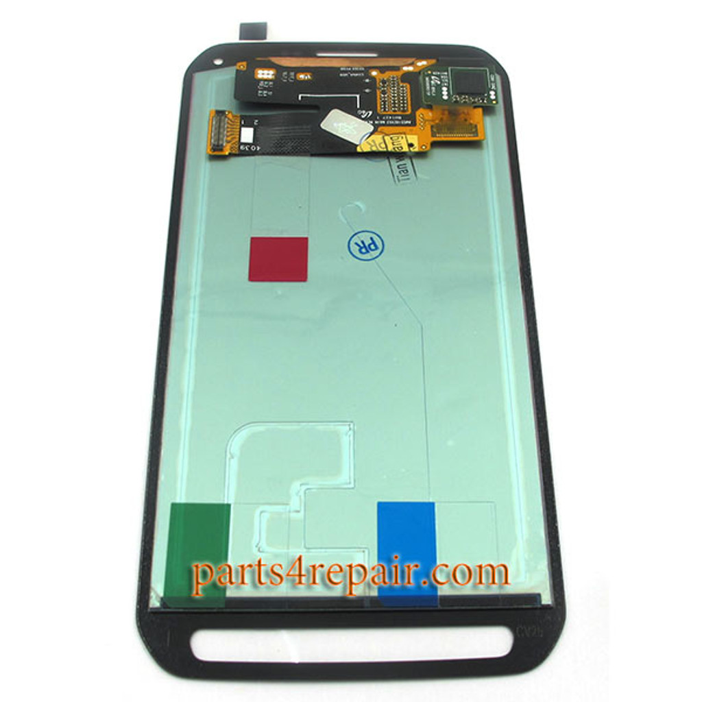 Complete Screen Assembly for Samsung Galaxy S5 Active SM-G870A -Camo Green