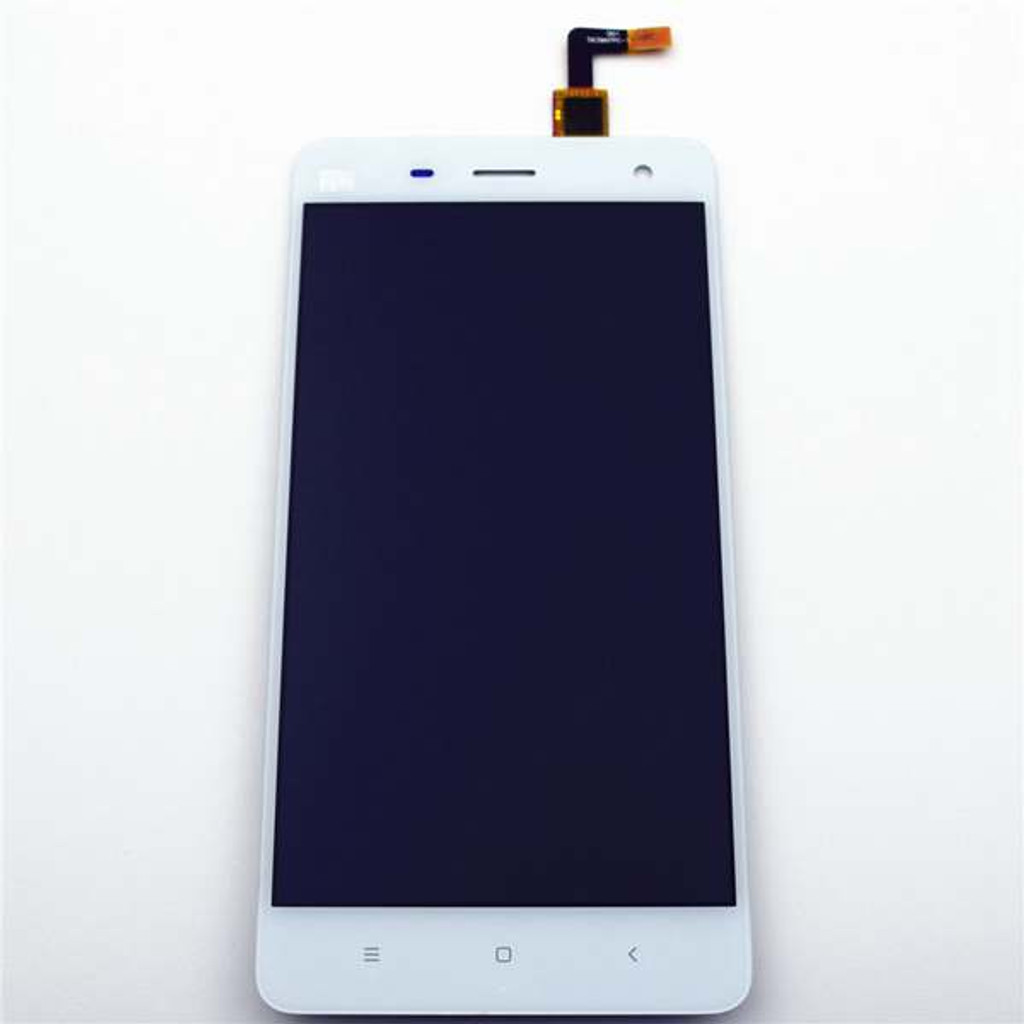 Complete Screen Assembly for Xiaomi MI 4 -White from www.parts4repair.com