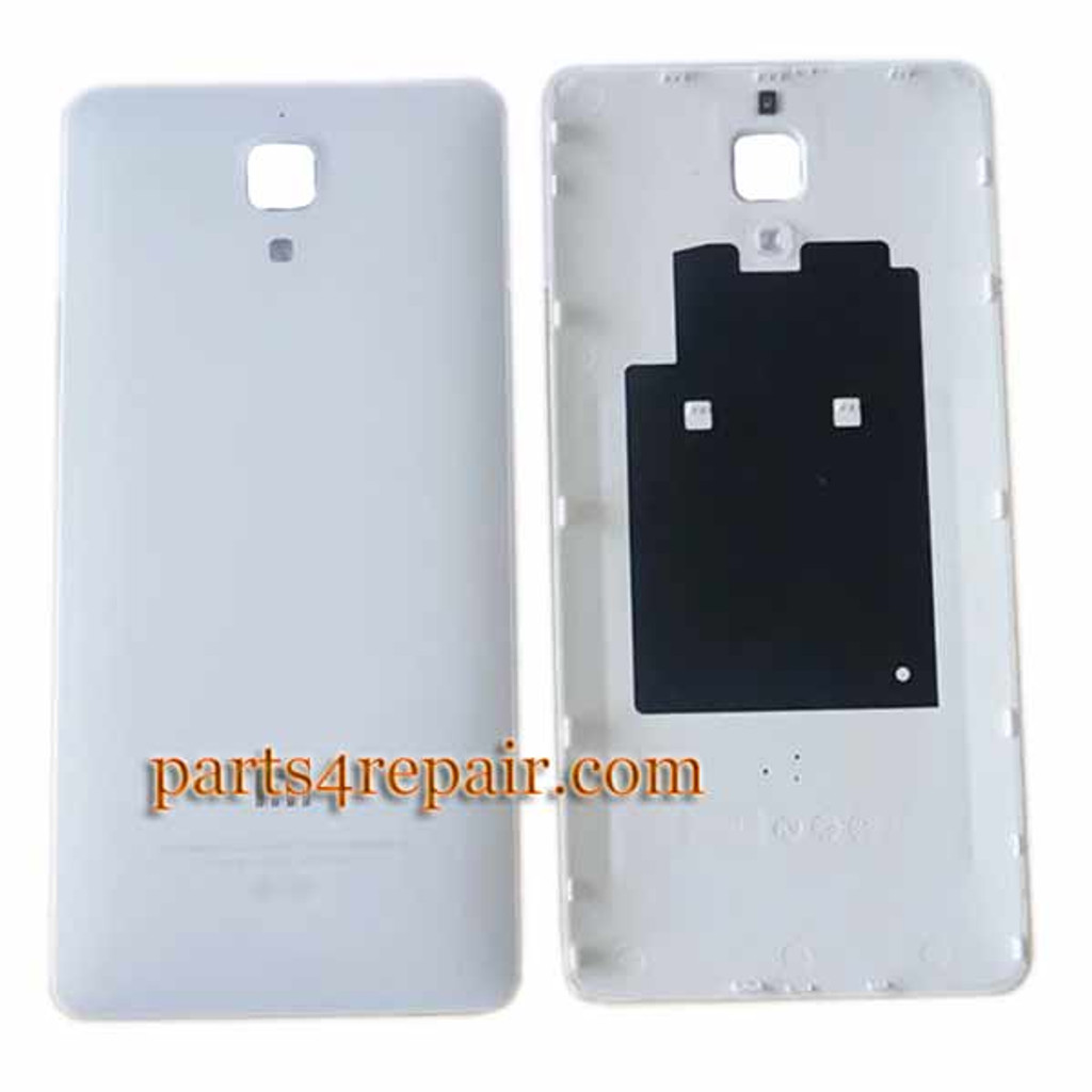 Back Cover for Xiaomi MI 4 -White from www.parts4repair.com