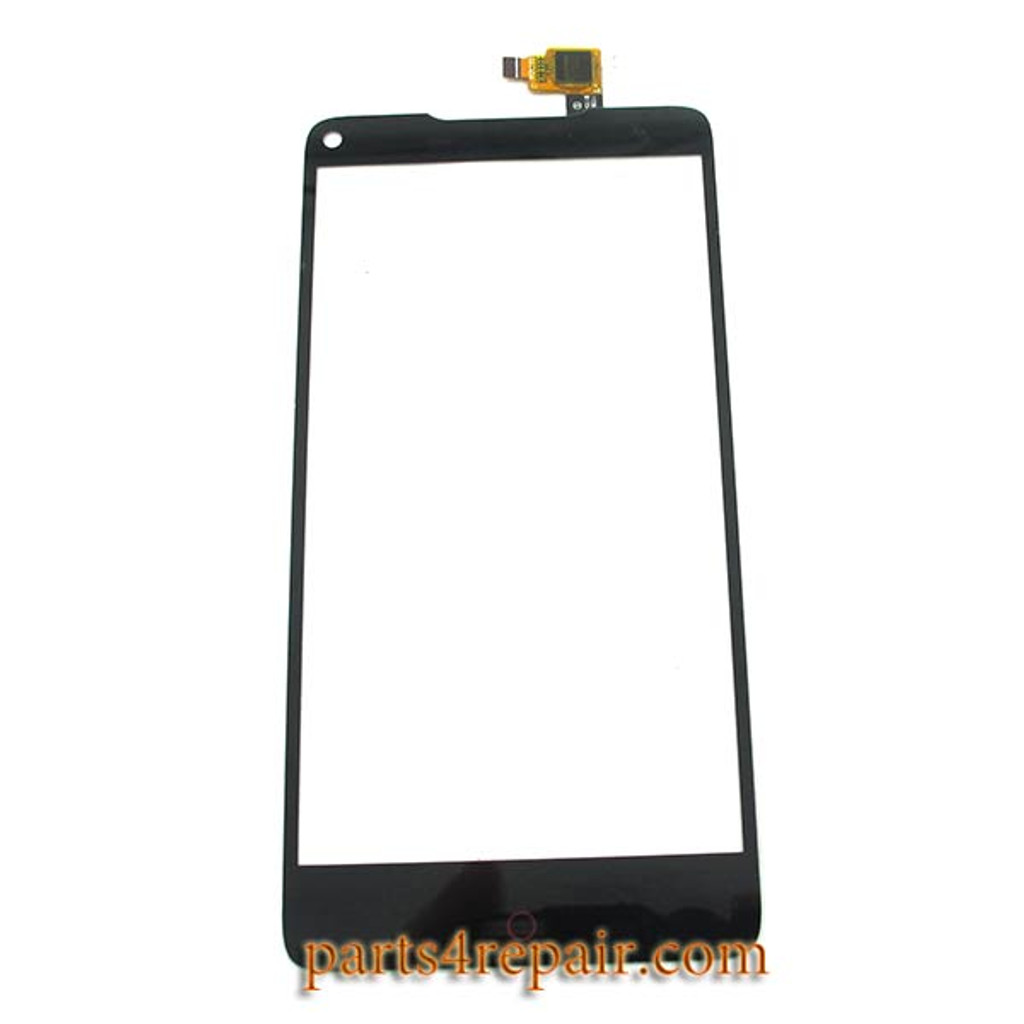 Touch Screen Digitizer for ZTE Nubia Z5S NX503A -Black from www.parts4repair.com