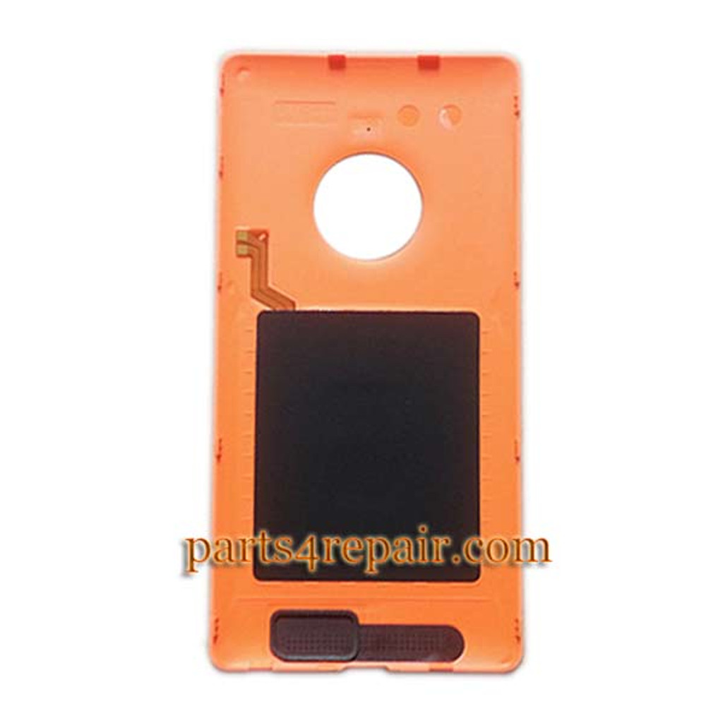 We can offer Back Cover with Wireless Charging Coil for Nokia Lumia 830 -Orange