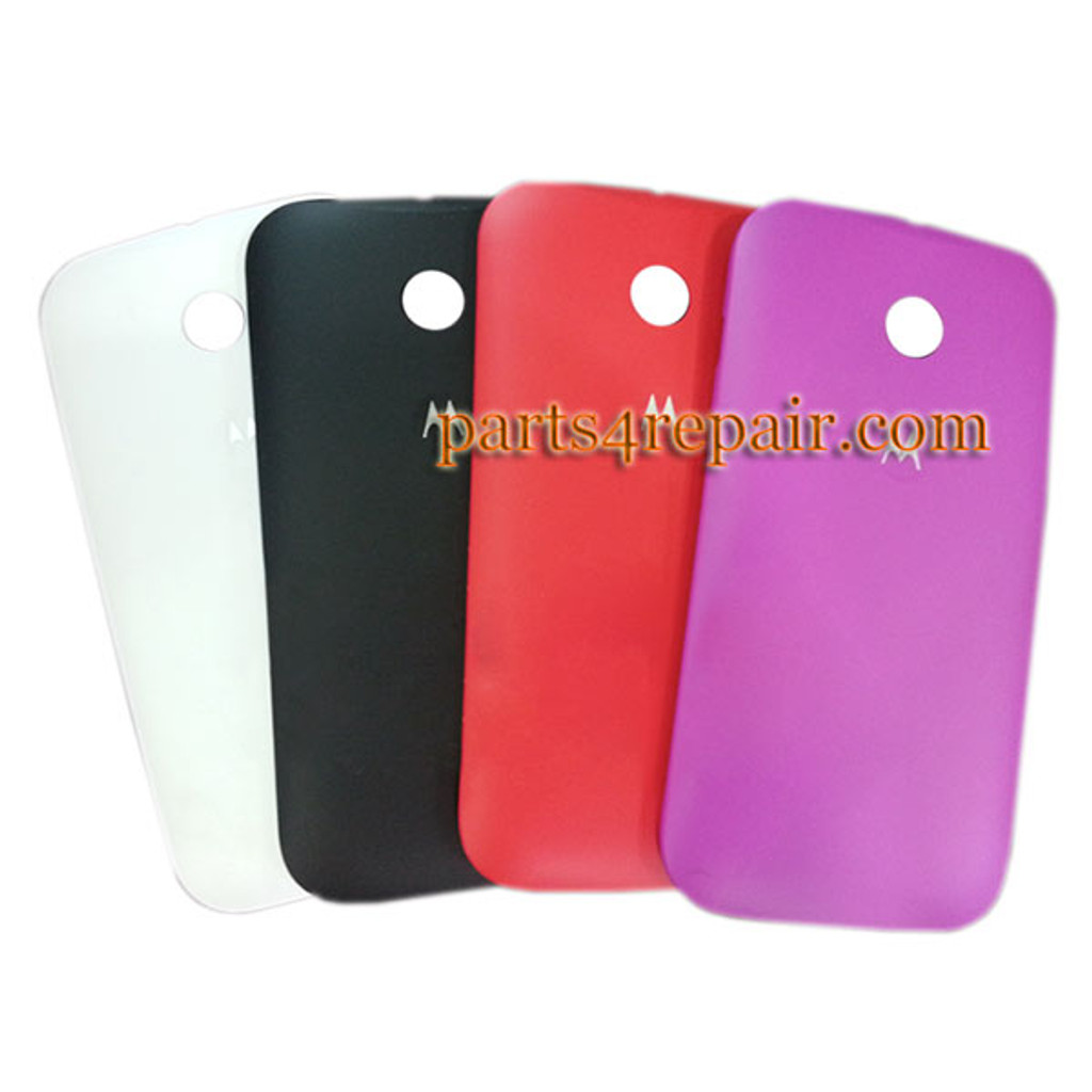 Back Cover for Motorola Moto E XT1021 -Red from www.parts4repair.com