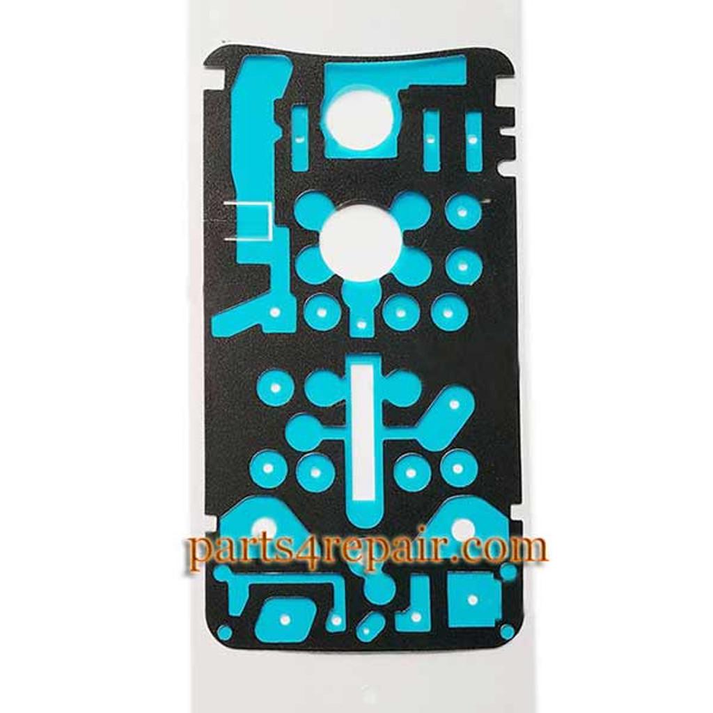 Battery Cover Adhesive Sticker for Motorola Nexus 6 from www.parts4repair.com