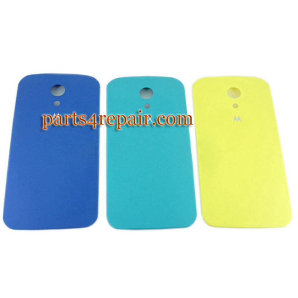 Back Cover for Motorola Moto G2 XT1068 -Yellow from www.parts4repair.com