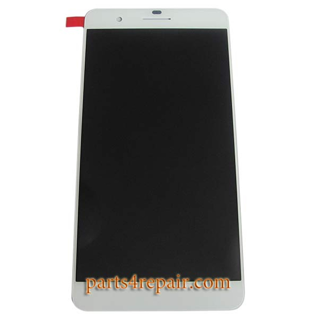 Complete Screen Assembly for Huawei Honor 6 Plus -White from www.parts4repair.com