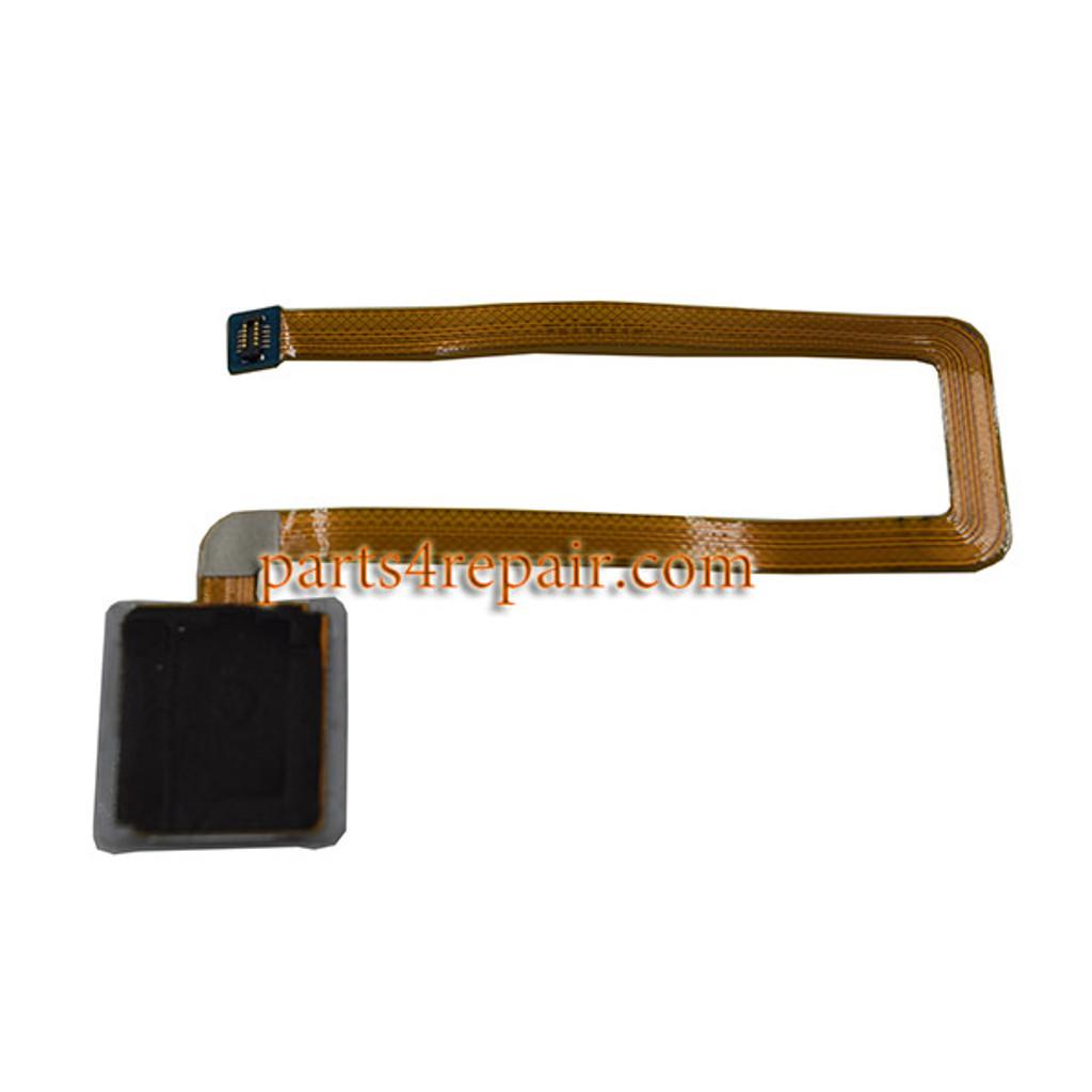Fingerprint Sensor Flex Cable for Huawei Ascend Mate 7 -Silver