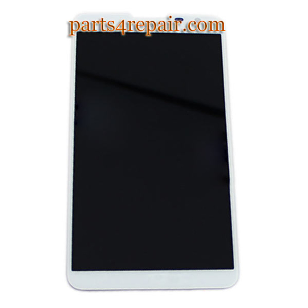 Complete Screen Assembly for Huawei Ascend Mate 2 -White from www.parts4repair.com