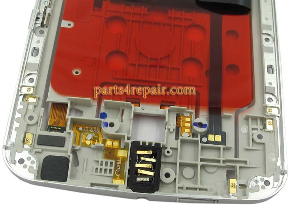 Middle Plate for Motorola Nexus 6 -White