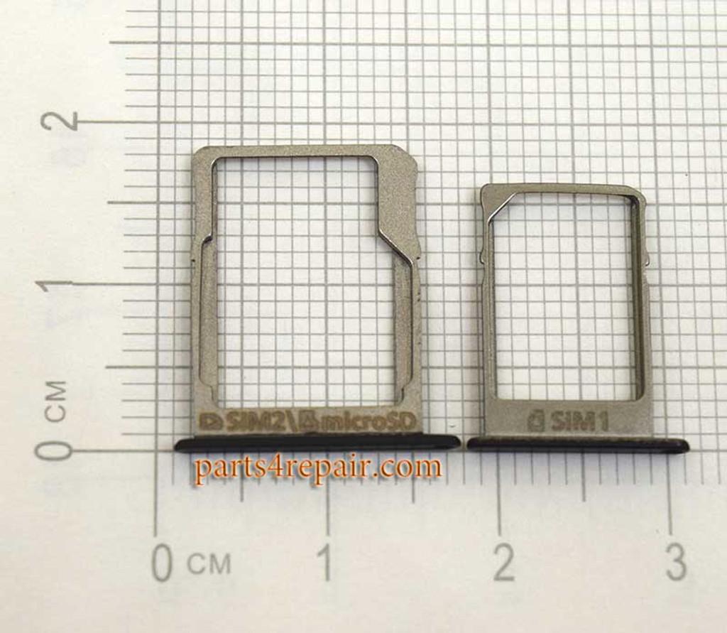 SIM Tray and MicroSD Tray for Samsung Galaxy A5 A7 -Black