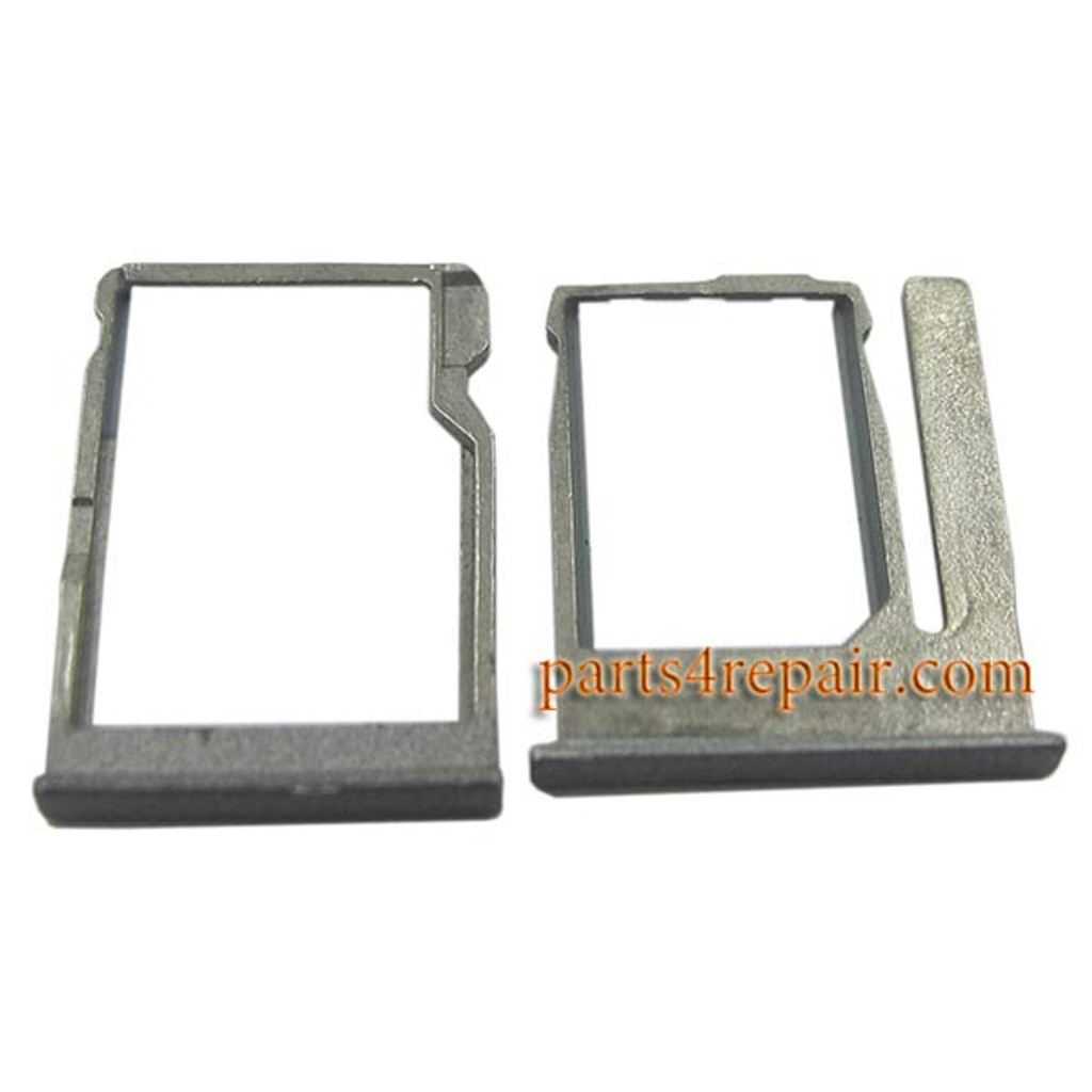 SIM Tray & TF Card Tray for HTC One miini 2 -Gray