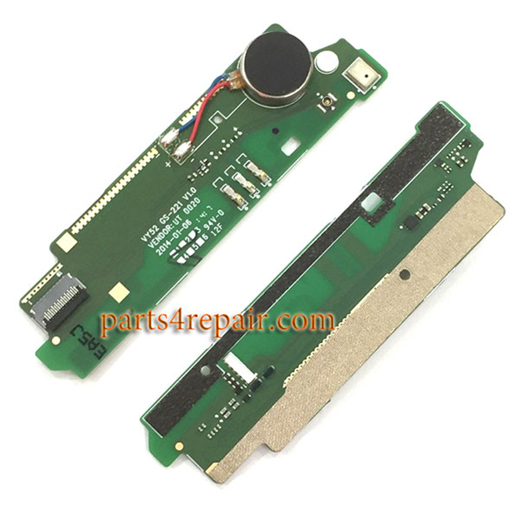 Microphone Board with Vibrator for Sony Xperia M2