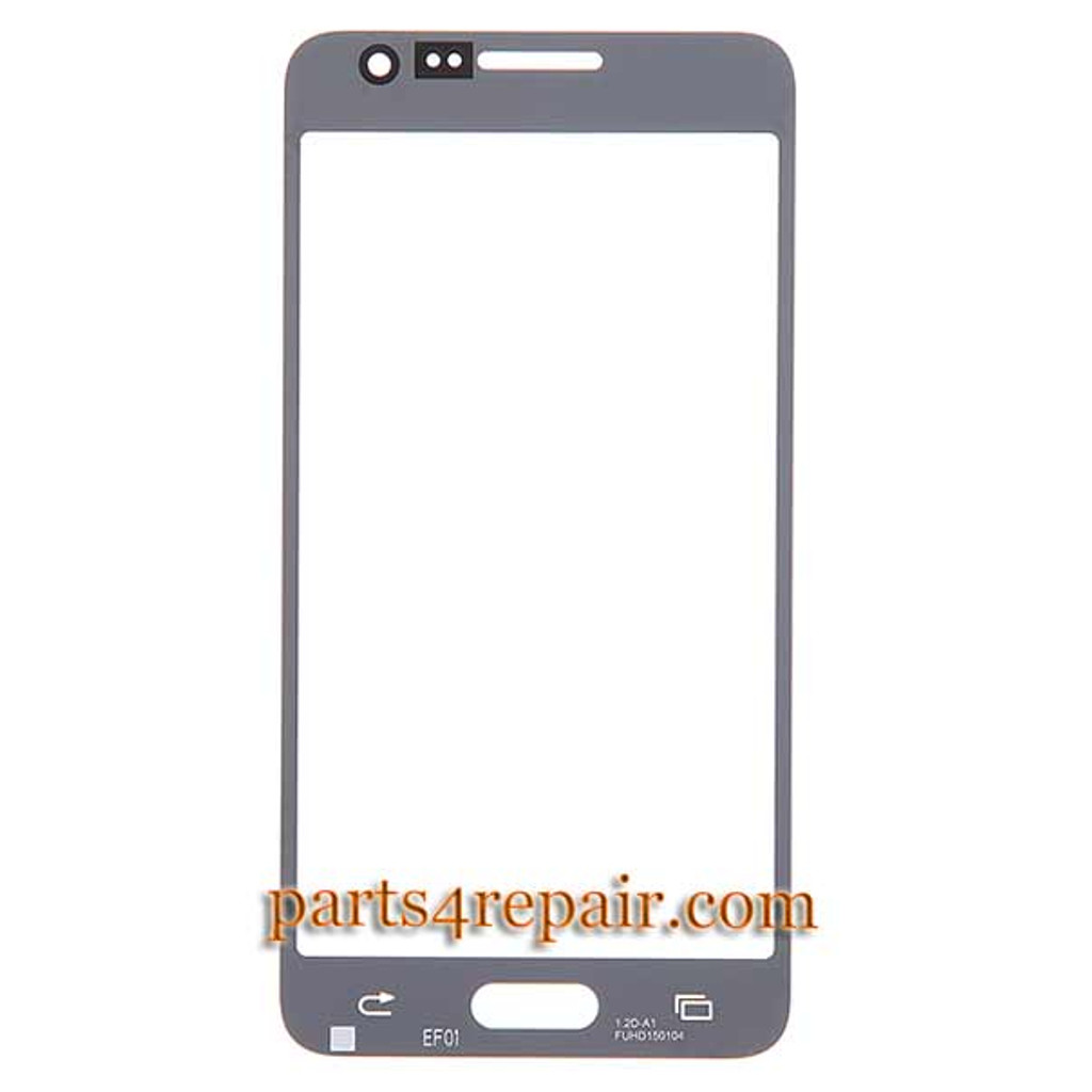 Generic Front Glass for Samsung Galaxy A7 SM-A700 -Gold