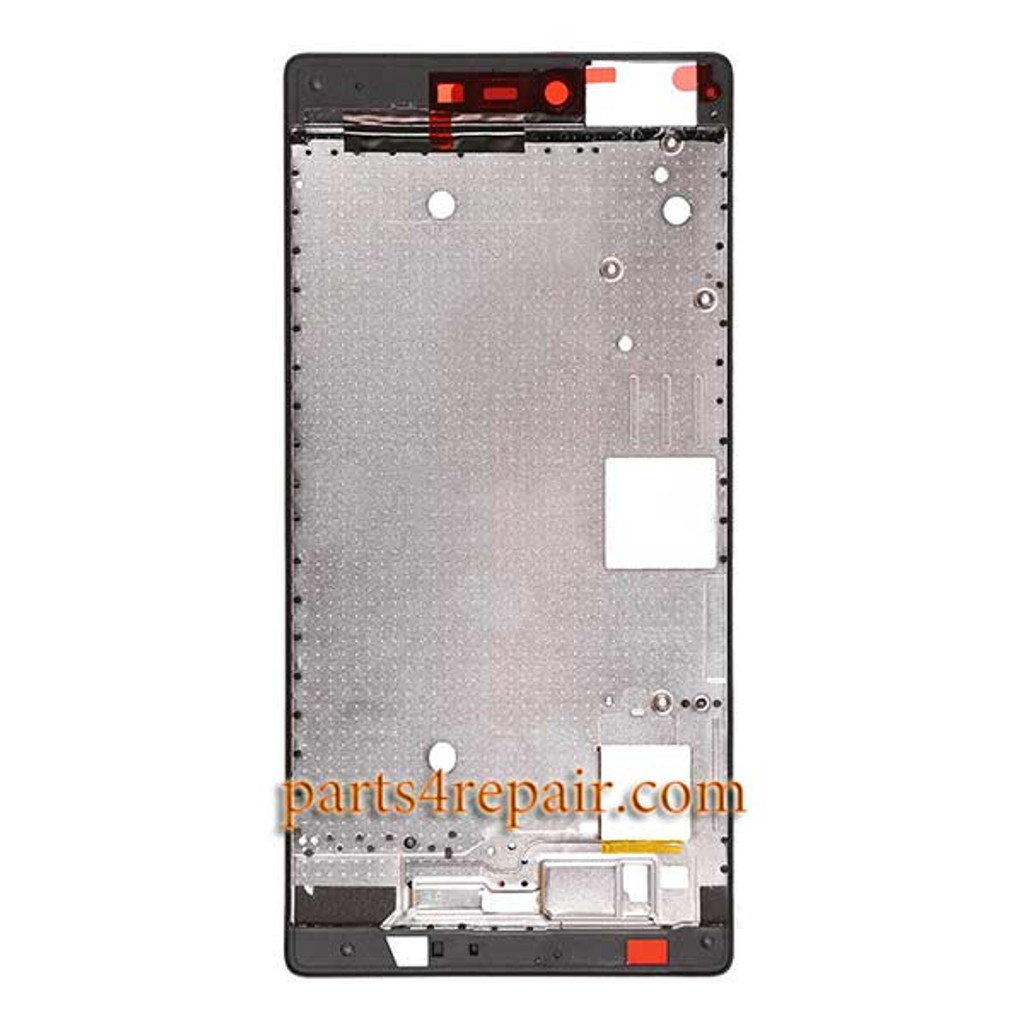 Front Housing Cover for Huawei P8 -Black