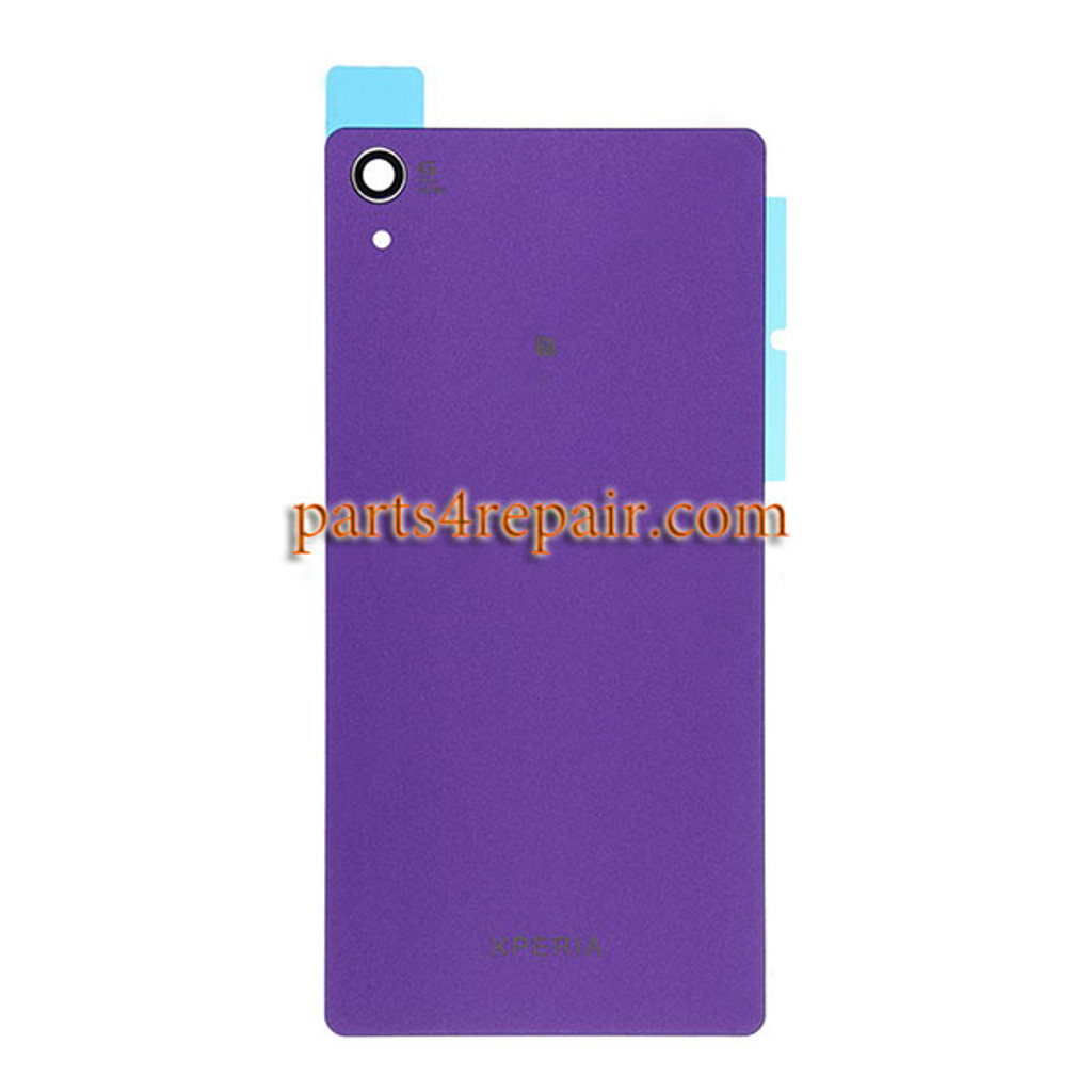 Generic Back Cover with NFC for Sony Xperia Z2 -Purple