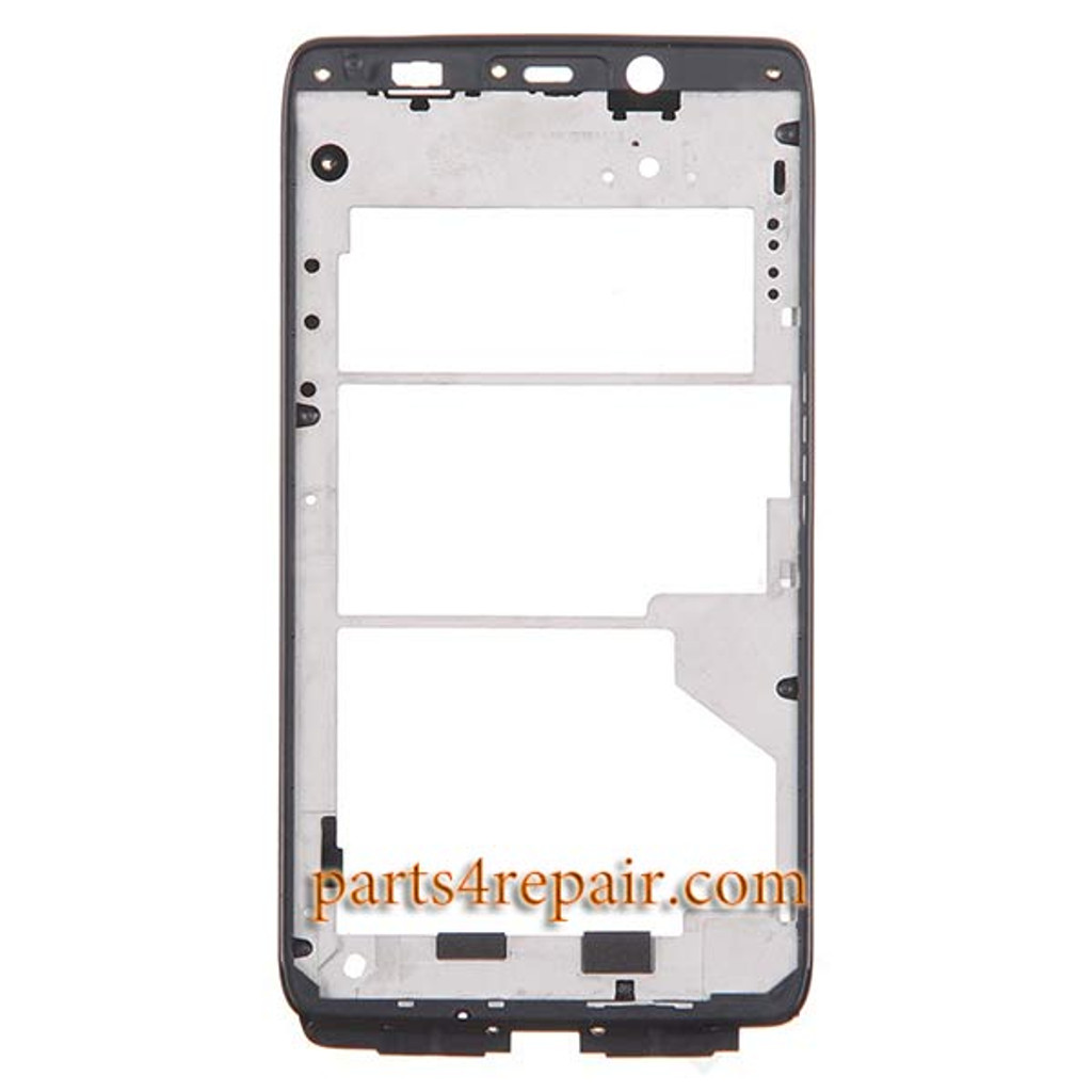 Front Housing Cover for Motorola Droid Ultra XT1080 -Black