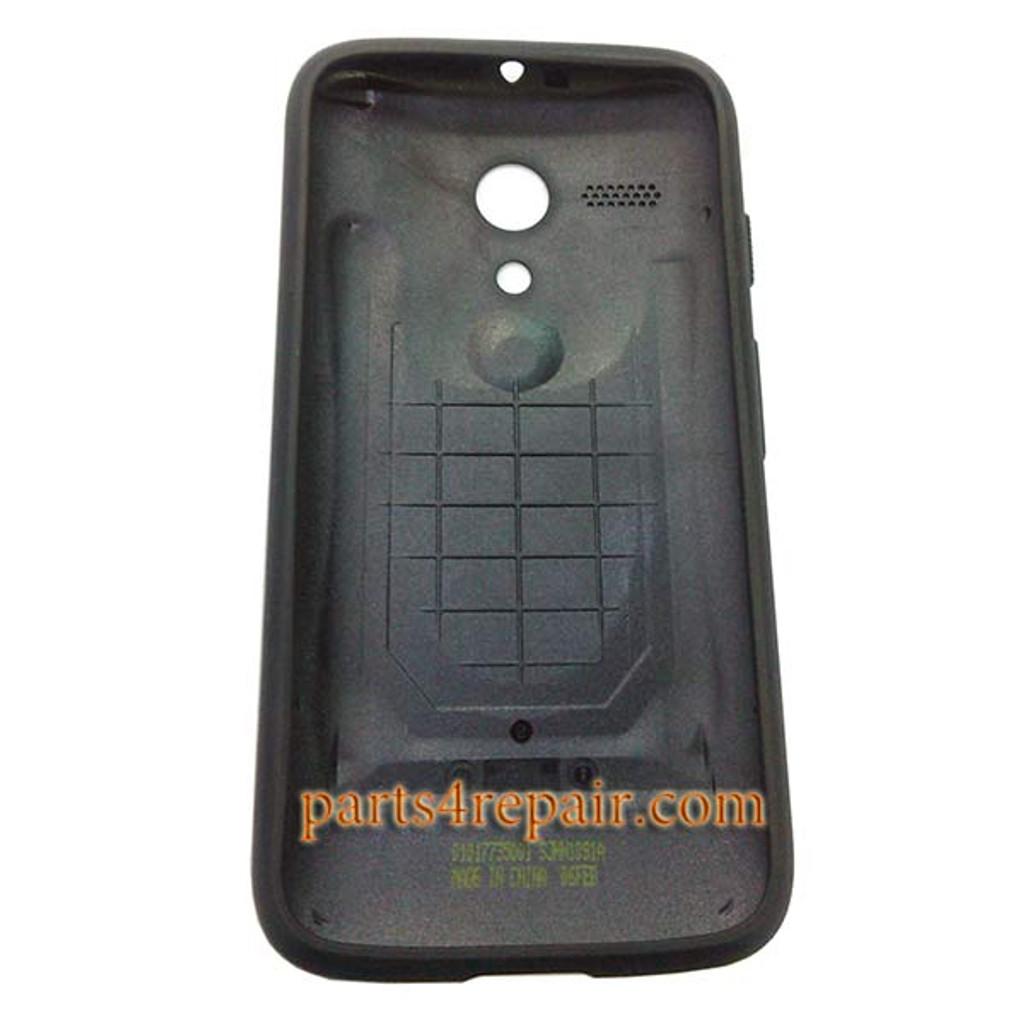 Grip Shell Protective Case for Motorola Moto G XT1032 -Black
